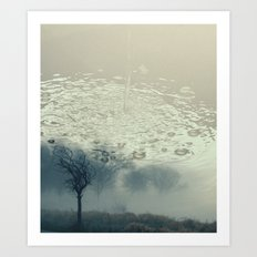 Liquid Silence Art Print