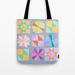 quilt bee Tote Bag