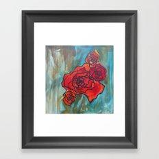 Roses61 Framed Art Print