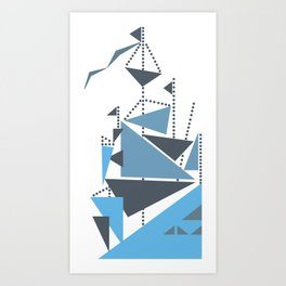 Simplified Art Print