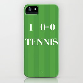 I heart Tennis iPhone Case