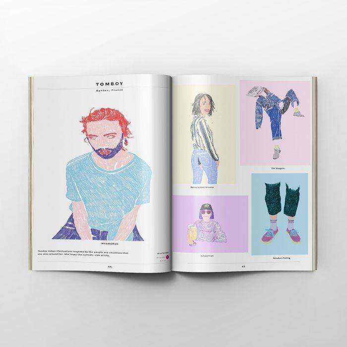 Society6 Art Quarterly No.3.3 + Flipside Art Zine Editions