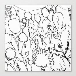 Daydream Contour Canvas Print