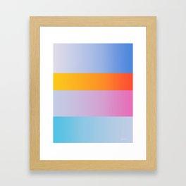 Cube house Framed Art Print
