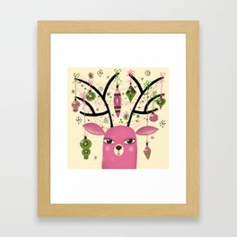 ANTLER ADORNMENTS Framed Art Print