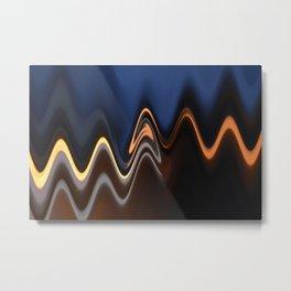 Street Lights 2 Metal Print