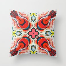 Red IV Throw Pillow