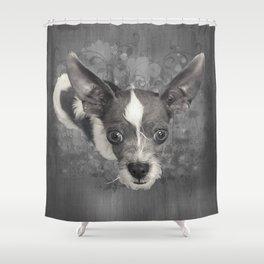 LiAM (puffy cloud) Shower Curtain