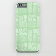 Birdcages (Green) Slim Case iPhone 6s