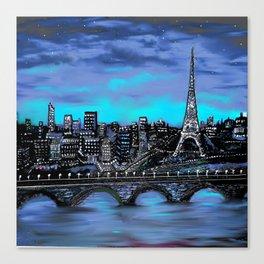 Eiffel Tower ~ Paris France Canvas Print