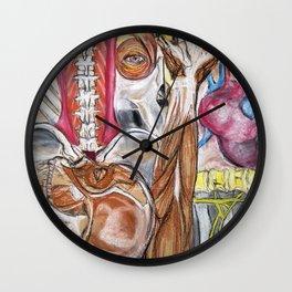 Anatomy Mash-up Wall Clock