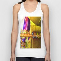subway Tank Tops featuring Subway NYC by Bettie Blue Design