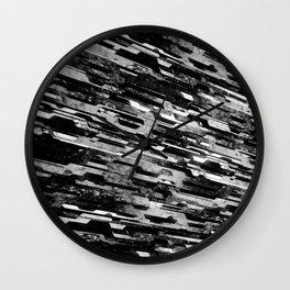 paradigm shift (monochrome series) Wall Clock
