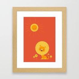 Who Loves the Sun Framed Art Print