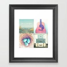 Lazy Days Framed Art Print