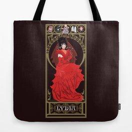 Lydia Nouveau - Beetlejuice Tote Bag