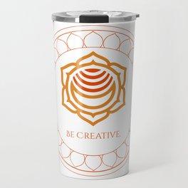 Be Creative Travel Mug