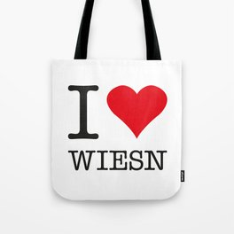 I LOVE WIESN Tote Bag