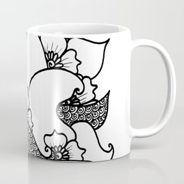 Amphora - White Black Coffee Mug