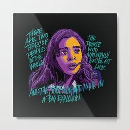 Nadine Franklin Metal Print
