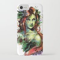 poison ivy iPhone & iPod Cases featuring Poison Ivy by Vincent Vernacatola