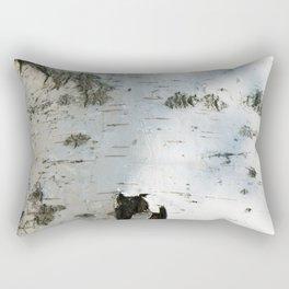 Birch bark pattern Rectangular Pillow