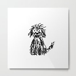 Doggy day Metal Print