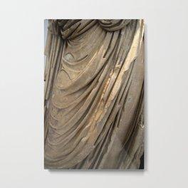 The Philosopher Dress Metal Print