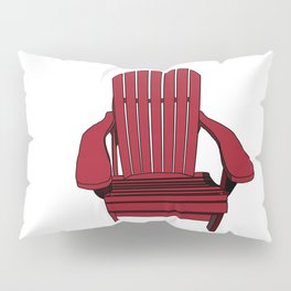 Sit back and relax in the Muskoka Chair Pillow Sham