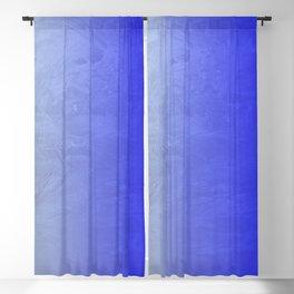 Blue Ice Glow Blackout Curtain