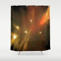 constellation Shower Curtains featuring Constellation by GothicToggs