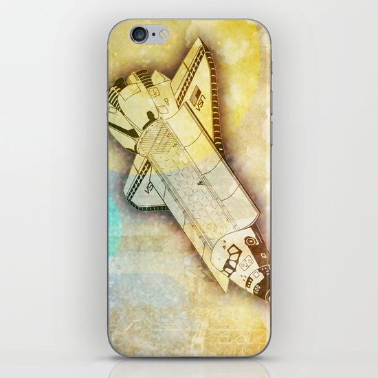 Lost in space _ Tribute to space tarvel iPhone & iPod Skin