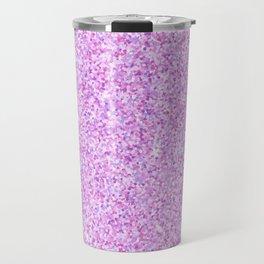 Purple Glitter Travel Mug
