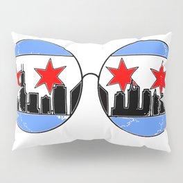 chicaGOggles skyline Pillow Sham