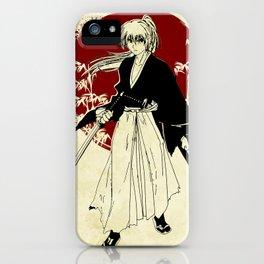 samurai x iPhone Case