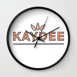 Vintage Kaydee Wall Clock