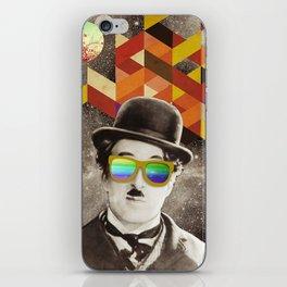 Public Figures Collection - Chaplin iPhone Skin