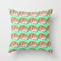 cookies Throw Pillows featuring Cookies by Chelsea Herrick