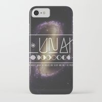 lunar iPhone & iPod Cases featuring Lunar by Nate Compton
