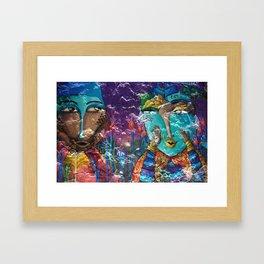 The Whispers Framed Art Print