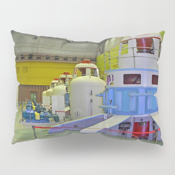 machine room HPP Pillow Sham