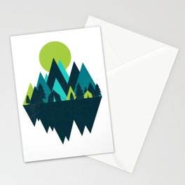 COOL TONES Stationery Cards