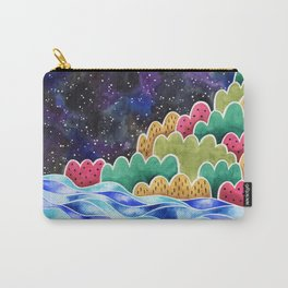 Night Sky Landscape Carry-All Pouch