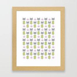 PMW Pattern Framed Art Print
