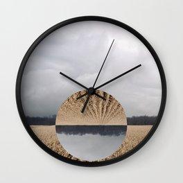 Midwest Autumn Horizon - Flip Wall Clock
