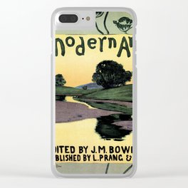 1895 Modern Art Arthur W. Dow Clear iPhone Case