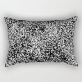 Snowy Blossoms Rectangular Pillow