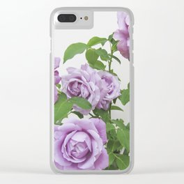 winter rose . image Clear iPhone Case