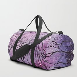 Galaxy, watercolor Duffle Bag
