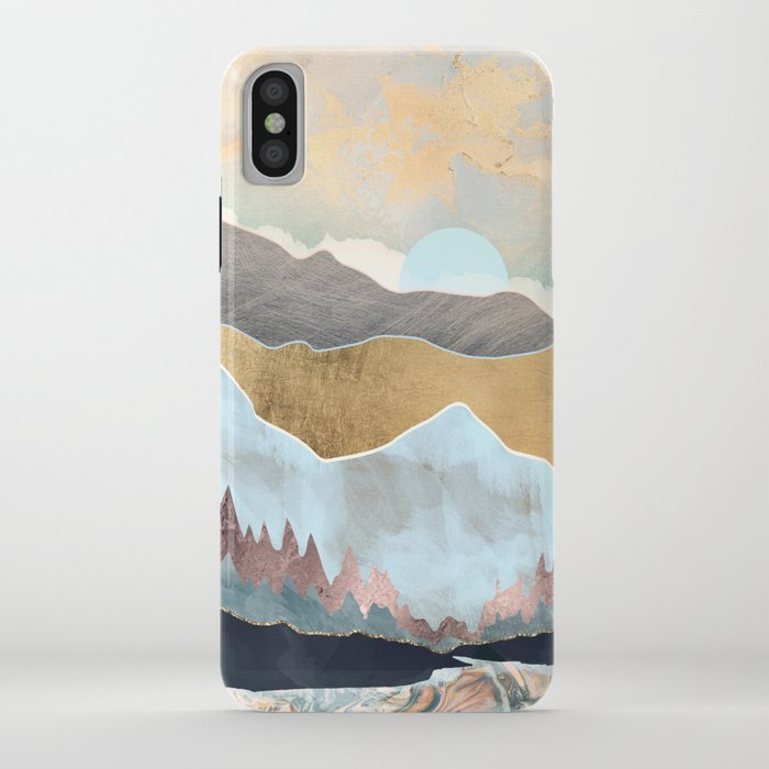 winter light iphone case